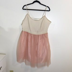 pink tulle FOREVER 21 dress